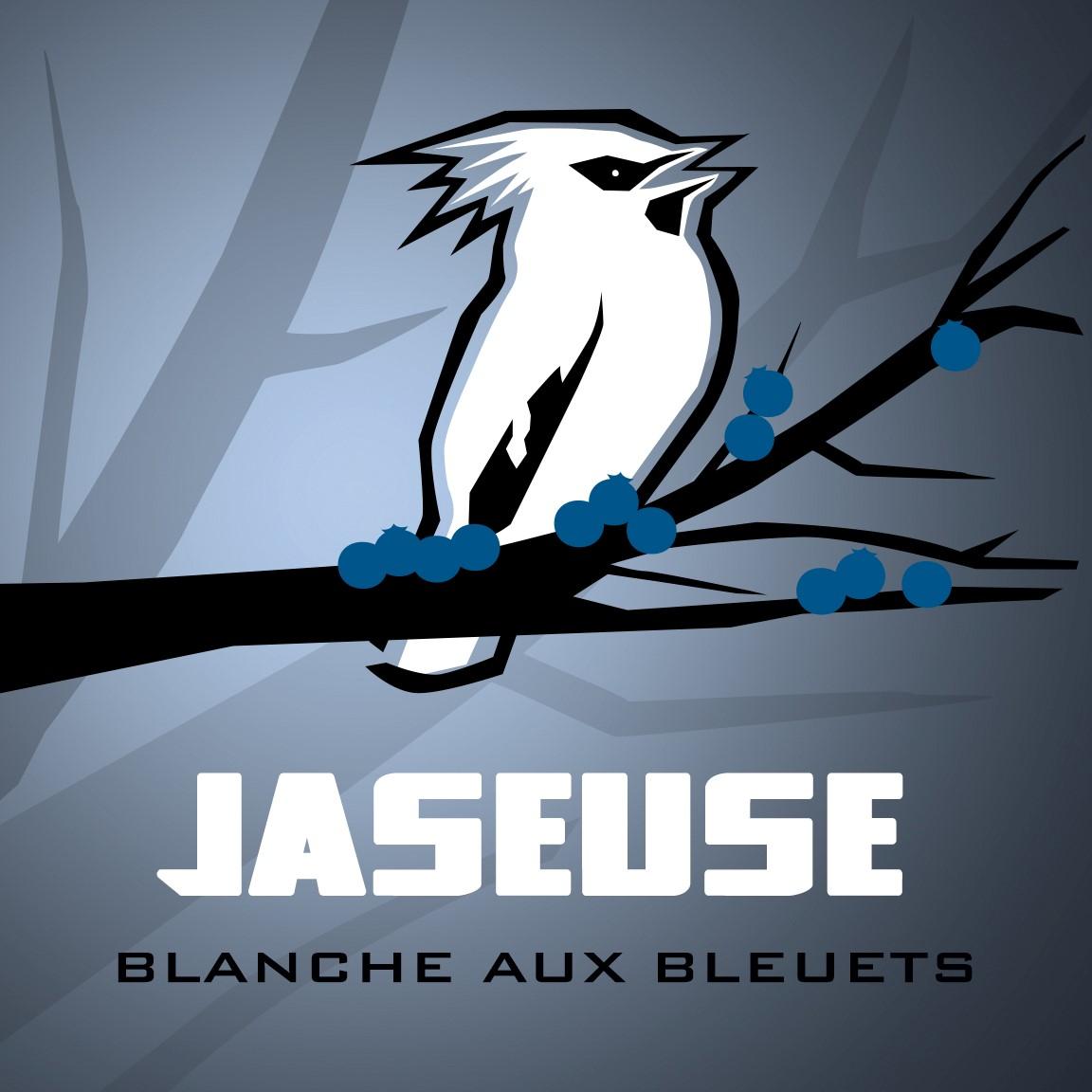Jaseuse aux bleuets - 473ml