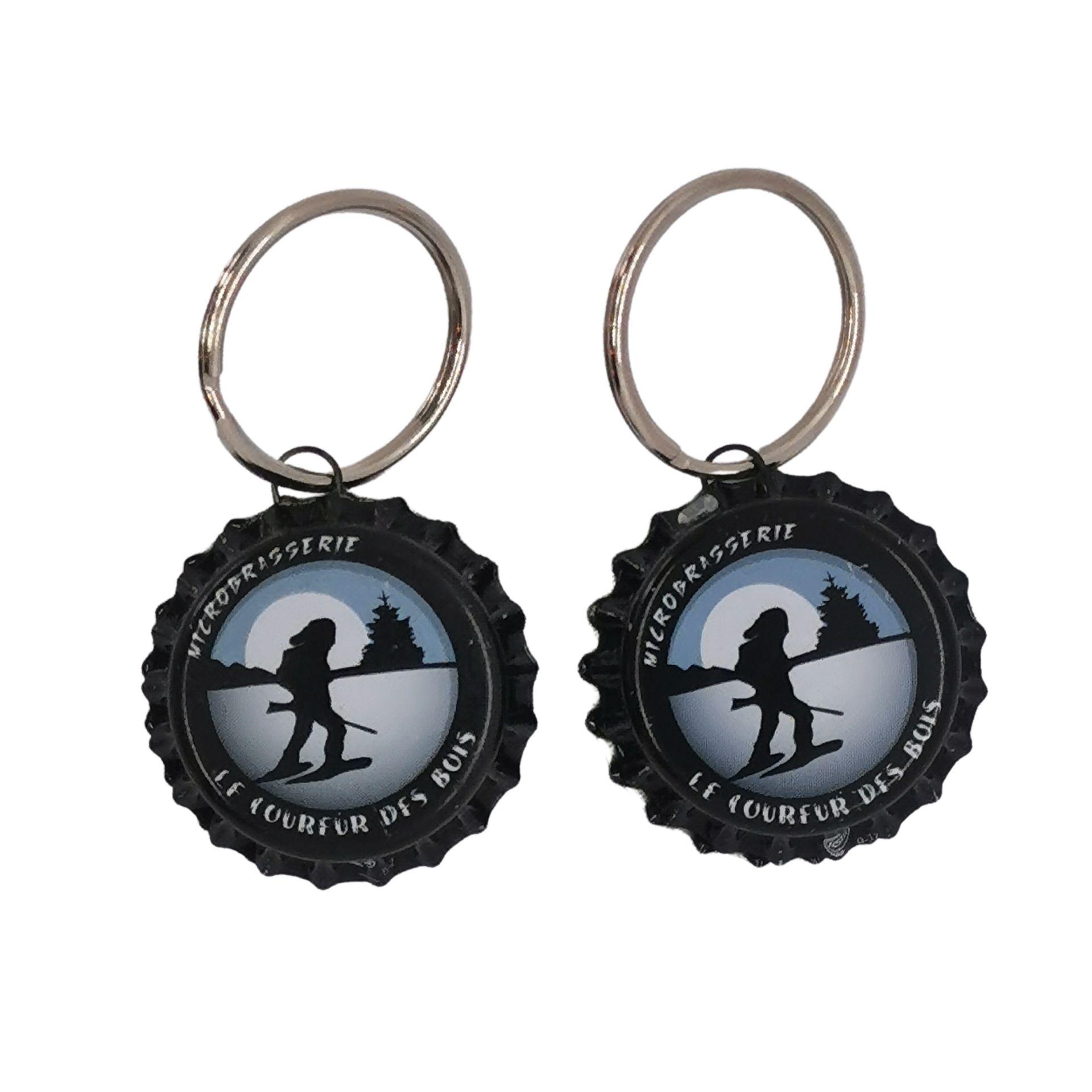 Porte-clés Caps de bière